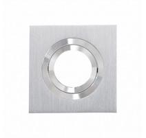 Aplique cuadrado aluminio 100mm basculante