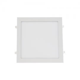 Downlight led cuadrado 25W plata