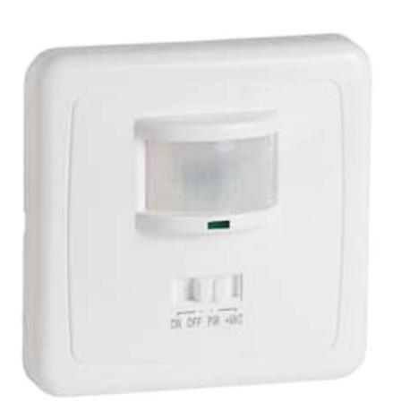 Sensor de presencia mecanismo para pared IP44