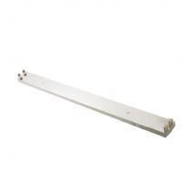 Regleta de superficie para dos tubos led 120cm