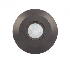 Sensor de movimiento por infrarrojos color negro