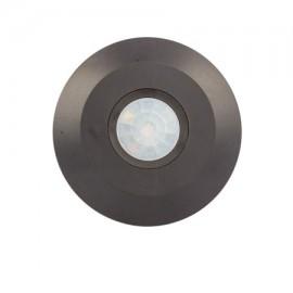 Sensor de presencia por infrarrojos color negro