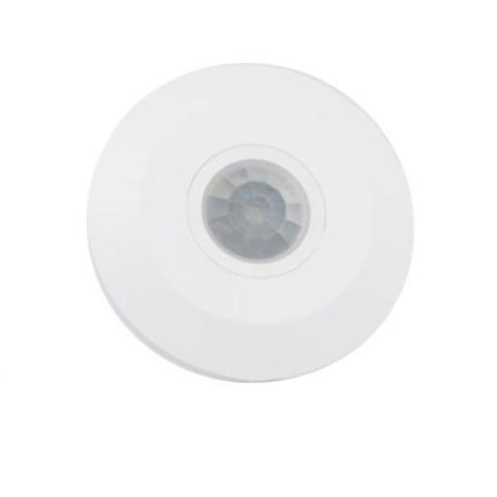 Sensor de presencia por infrarrojos color blanco