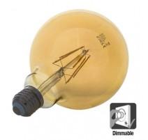 Bombilla led E27 4W globo filamento regulable 700Lm