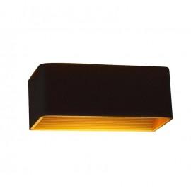 Bañador de pared negro/oro 12W