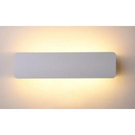 Bañador de pared blanco 8W luz orientable