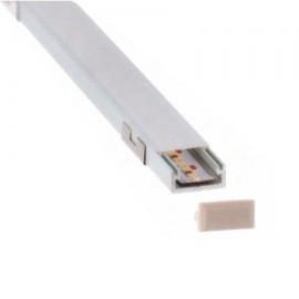 PERFIL LED SUPERFICIE 16 X 7mm (BARRA 2 METROS)