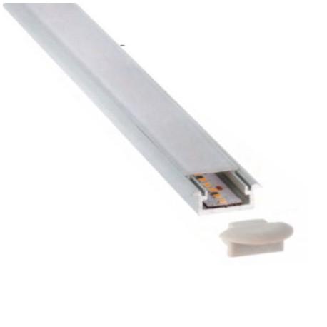 PERFIL LED ALUMINIO EMPOTRAR 16 X 7,5MM