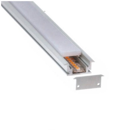 PERFIL LED ALUMINIO EMPOTRAR PISABLE