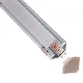 PERFIL LED ALUMINIO ANGULAR (BARRA DE 2 METROS)