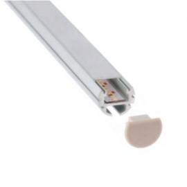 PERFIL LED ALUMINIO CIRCULAR (BARRA DE 2 METROS)