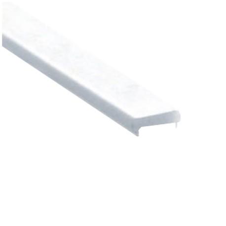 DIFUSOR PERFIL LED ALUMINIO EMPOTRAR PISABLE (BARRA 2 METROS)
