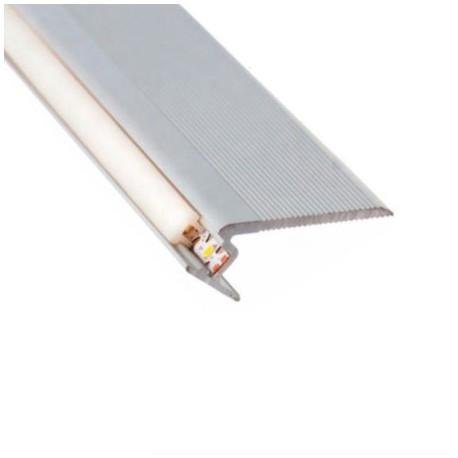 PERFIL LED ALUMINIO ESCALERAS (BARRA DE 2,40 METROS)