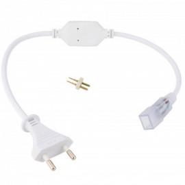 Enchufe conector IP65 para tiras de led de 220V SMD5050