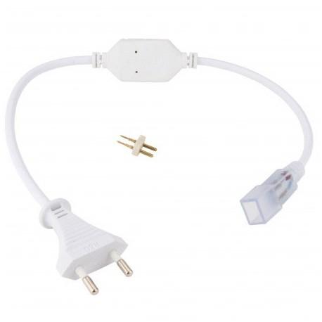 Enchufe conector para tira de led de 220v SMD5050