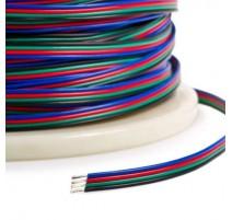 CABLE 4 HILOS RGB (Precio por metro)