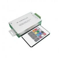 Controlador tira led RGB con mando de RF