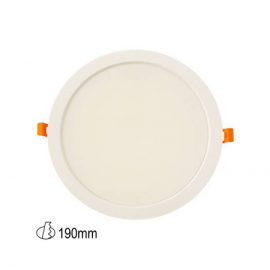 Downlight led redondo 25W medida corte 190mm