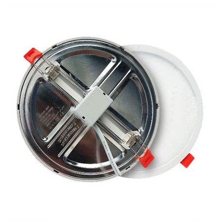 DOWNLIGHT SLIM REDONDO 9W BLANCO CON CORTE AJUSTABLE