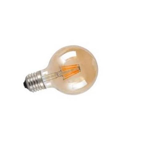 Bombilla led globo vintage ambar E27 4W 400Lm