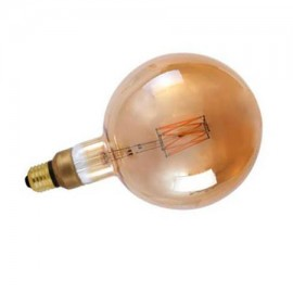 Bombilla led globo vintage E27 6W gran tamaño 600Lm