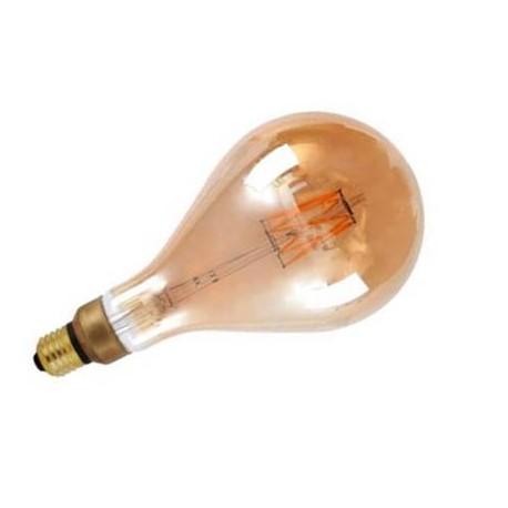 Bombilla led vintage E27 6W forma de pera 600Lm