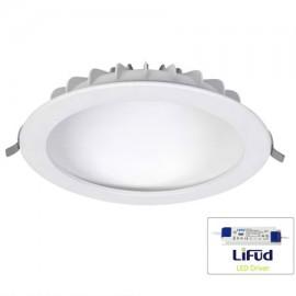 Downlight led redondo 22W blanco luz oculta