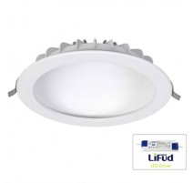DOWNLIGHT  REDONDO 22W  BLANCO LUZ OCULTA