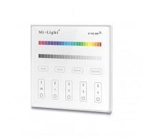 MANDO RGB/RGBW TACTIL EMPOTRABLE PARA 4 ZONAS