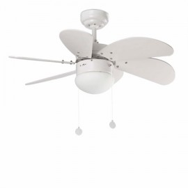 Ventilador de techo FARO PALAO blanco 33180