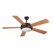 Ventilador de techo Randy color wengue