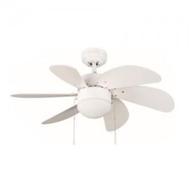 Ventilador de techo Tabit color blanco