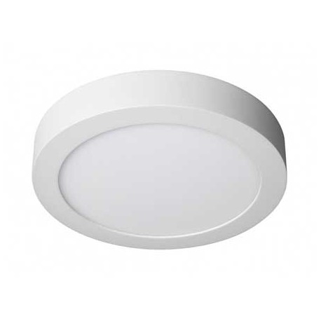 Plafón led redondo 24W blanco 300mm 2480Lm