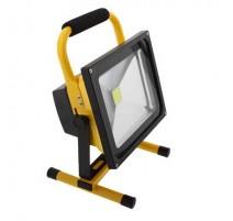 Foco proyector led portátil con bateria 30W