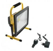 Foco proyector led portátil con bateria 50W