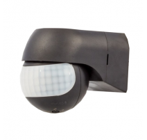 Sensor de movimiento para pared IP44 Negro