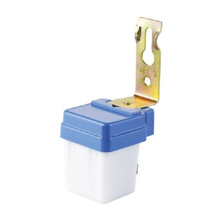 Sensor crepuscular con célula fotovoltaica