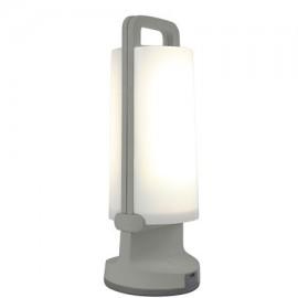 Lámpara solar portatil DRAGONFLY gris 1.2W 120Lm 4000K de Lutec