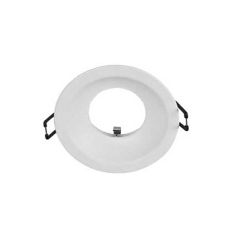Aplique redondo blanco 95(Ø)mm para GU10