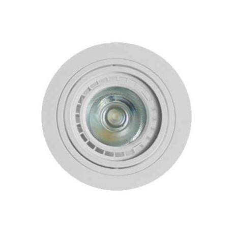 Aplique redondo basculante blanco 117(Ø)mm para GU10