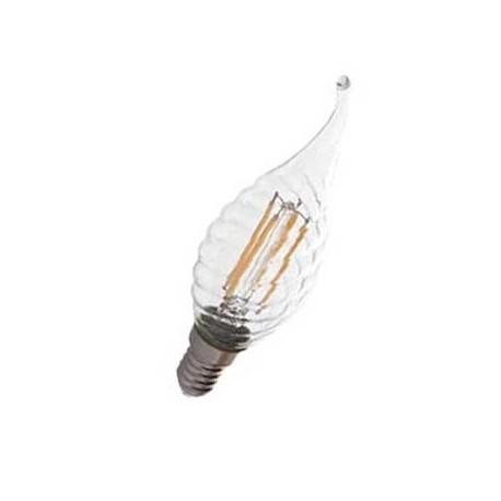 Bombilla led E14 4W filamente regulable