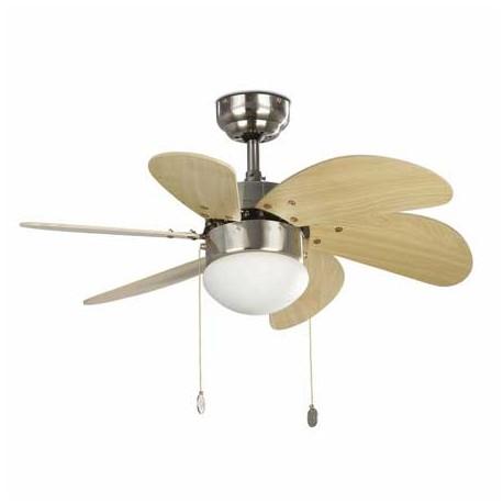 Ventilador de techo PALAO níquel