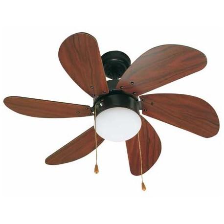 Ventilador de techo PALAO marrón