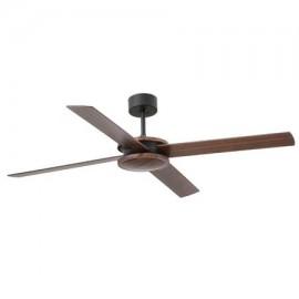 Ventilador de techo FARO POLEA marrón