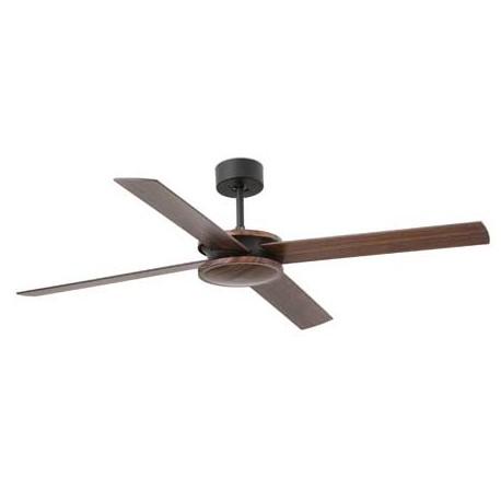 Ventilador de techo POLEA marrón