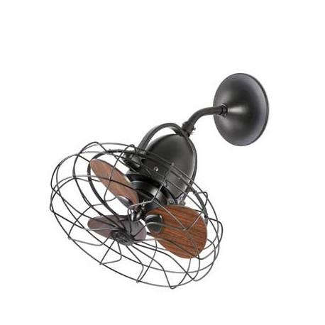 Ventilador de techo KEIKI marrón