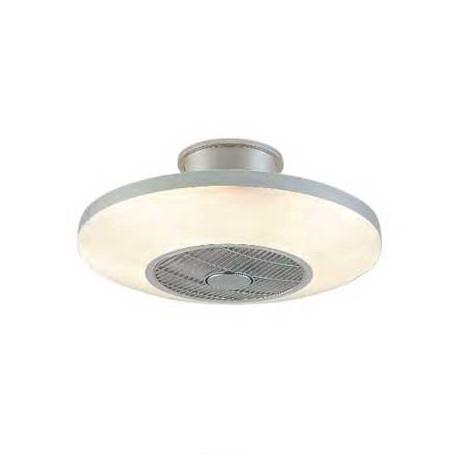 Ventilador de techo VIENA plata