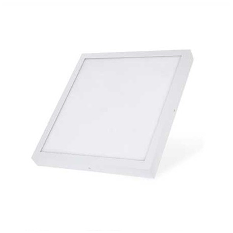 Plafon led superficie cuadrado 36W blanco