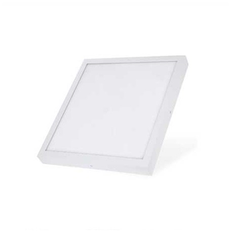 Plafon led superficie cuadradao 25W blanco