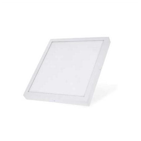 Plafon led superficie cuadrado 12W blanco